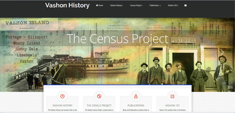 Vashon Census Project